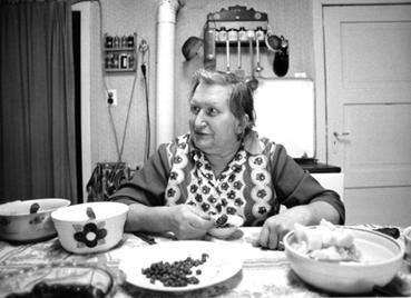 Elisabeth in der Küche